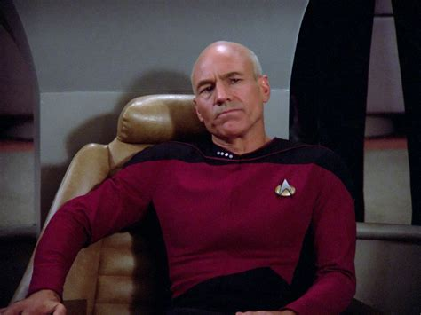 Jean Luc Picard Meme - patrick stewart is open to reprising his captain picard role geektyrant