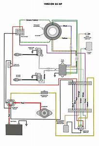 1973 Evinrude 50 Hp Wiring Diagram
