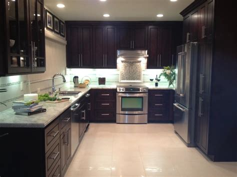 kitchen cabinet pics chocolate door style kitchen modern kitchen cabinetry 2674