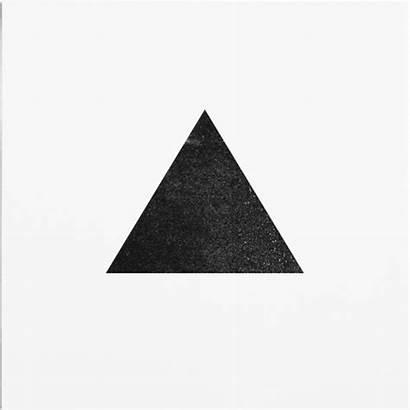 Triangle Minimal Geometry Minimalism Glitch Gifs Animation