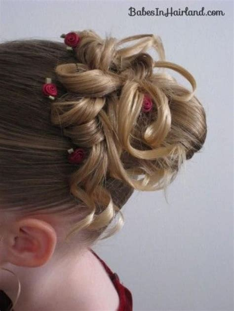 Flower Updo Hairstyles by 1000 Ideas About Updo On