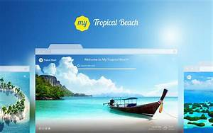 My Tropical Beach Summer Vacation Wallpapers