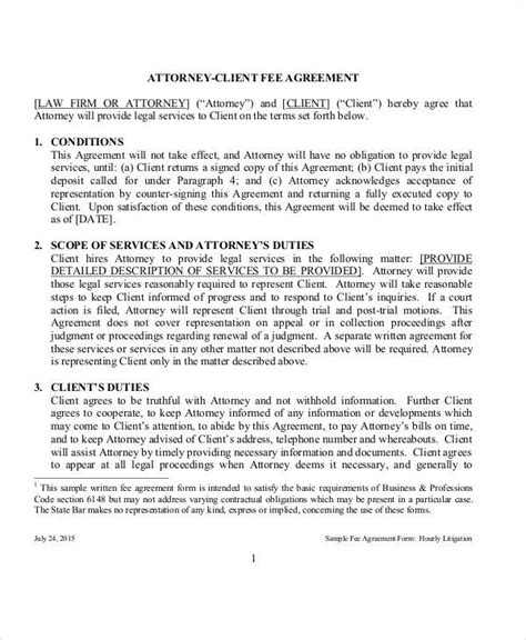 Success Fee Agreement Template by 40 Consulting Agreement Sles Sle Templates
