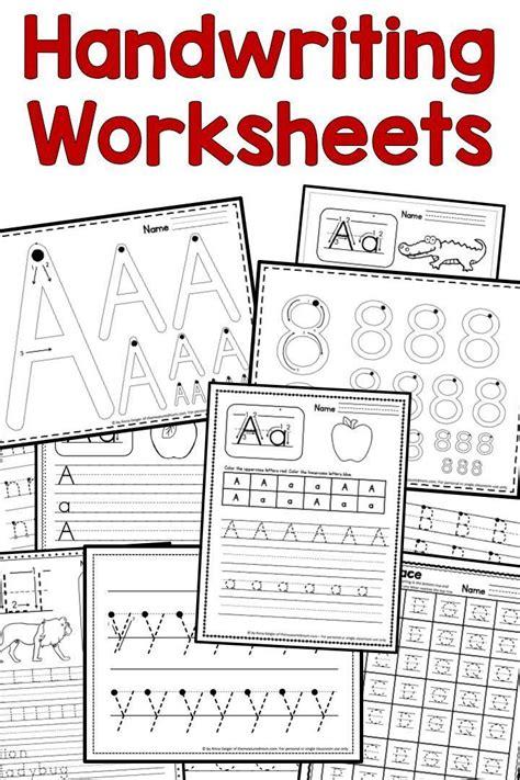 handwriting worksheets  images handwriting