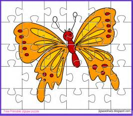 free printable jigsaw puzzle butterfly jigsaw puzzle