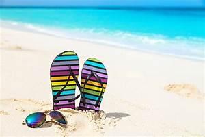 Images Flip-flops Beach Sea Nature Summer Sand eyeglasses