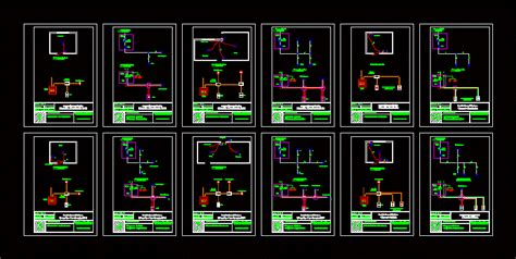 electrical circuit diagram  autocad cad  kb