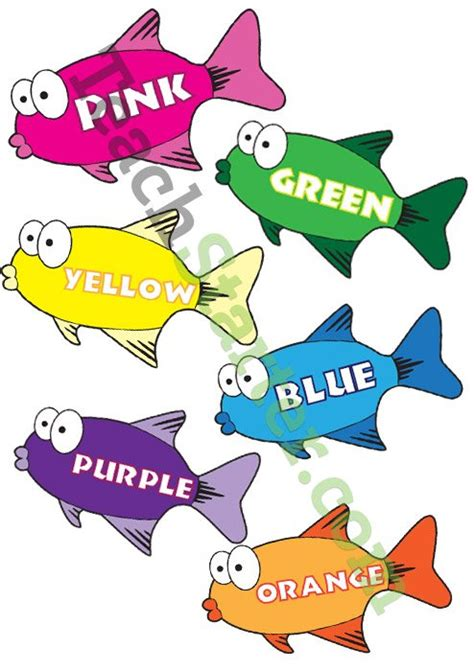 colour fish posters