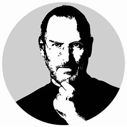 Steve Jobs Icon Transparent Deviantart Clipart Web