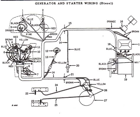 Need Wiring Diagram For Deere