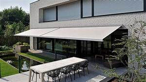 awning modern patio awning brustor uk With toile auvent de terrasse