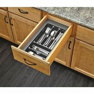shop rev a shelf 2125 in x 115 in plastic cutlery insert With what kind of paint to use on kitchen cabinets for custom stickers no minimum