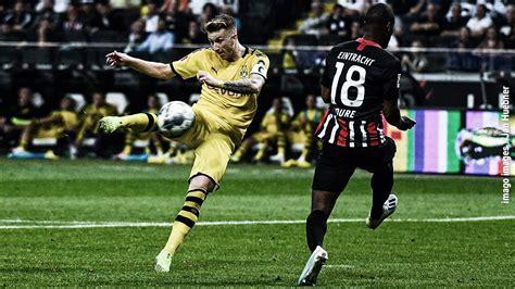 K.trapp, tuta, e.durm, o.ndicka, s.ilsanker, s.rode, f.kostic, d.sow, a.younes, a.silva, l.jovic. Borussia Dortmund vs Eintracht Frankfurt Deutsche ...