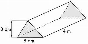 Rauminhalt Berechnen Liter : volumen des dreiseitigen allgemeinen prismas prismen ~ Themetempest.com Abrechnung