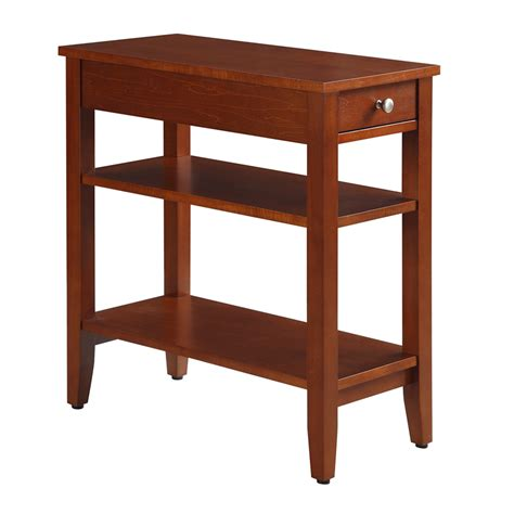 end table convenience concepts american heritage end table reviews wayfair