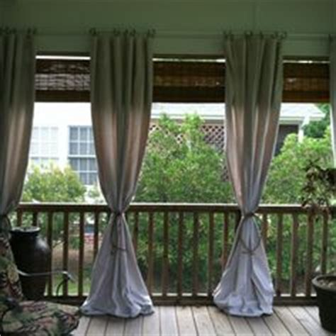 105 inch drop curtains 1000 ideas about porch privacy on porches