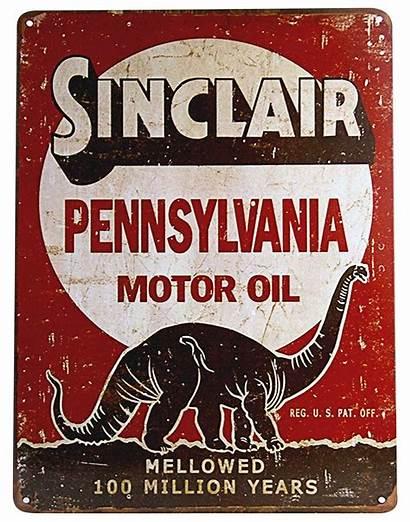 Oil Sinclair Tin Company Gasoline Shell Corporation