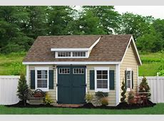 Buy Amish Storage Sheds and Prefab Garages Add Space for