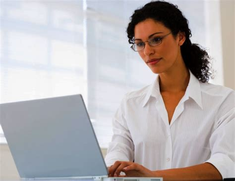 computer website professional woman xjpg black