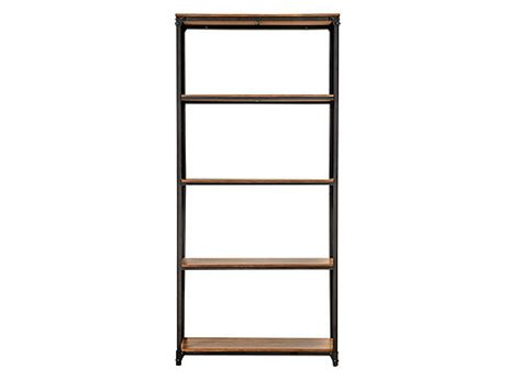 raymour and flanigan bookcases lorimer 73 5 quot bookshelf brown raymour flanigan