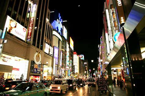 Ginza, Tokyo at night | JAPAN WEB MAGAZINE