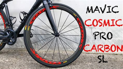Mavic Cosmic Pro Carbon SL | Review - YouTube