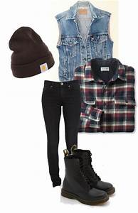 Grunge / Rock Winter Outfits For Women 2019 | FashionGum.com