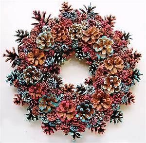 Pin, By, Mayflower, On, Handmade, Pine, Cone, Wreaths