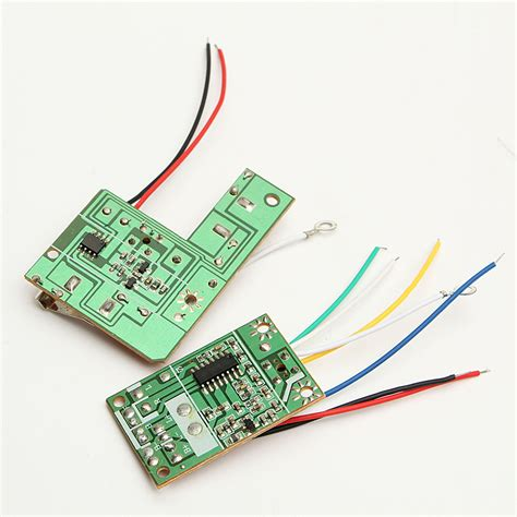 Mhz Remote Control Circuit Pcb Transmitter Toy Car