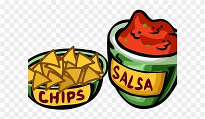 Clipart Clip Chips Salsa Library Dumielauxepices Clipground