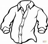 Coloring Shirt Pages Manly Printable Drawing sketch template