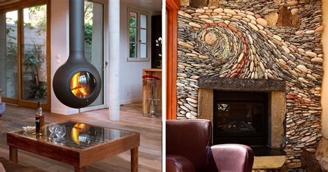 59 Of The Coolest Fireplaces Ever Outdoor Wood Burning Fireplace Inserts Black Insert Electric Heater Mantels Cast Stone Air Blower Vanguard Modern Marble