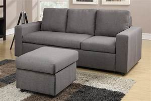 another stylish grey reversible sectional featuring With colton grey linen sectional sofa with reversible chaise