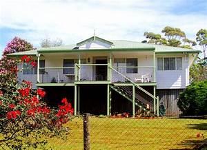 Modern Australian Home With Veranda And Garden  Queensland