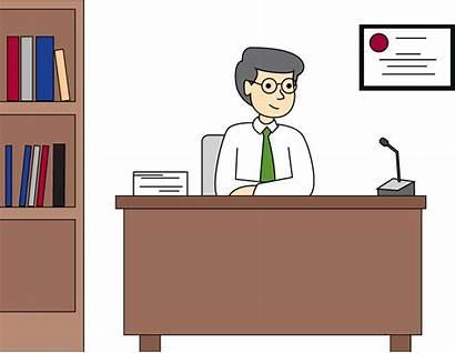 Principal Office Clipart Principals Library Clip Cartoon