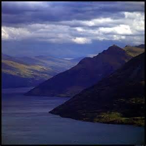 New Zealand Mountain Scenery