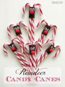 Christmas Candy Cane Reindeer