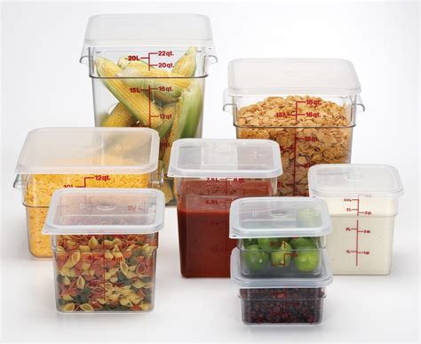 container cuisine 100 ways to use cambro food storage containers tundra