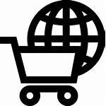 Commerce Icon International Transparent Ecommerce Global Icons