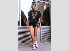 Gizele Oliveira La Moda Uk Shoes, H&M Shorts, Urban