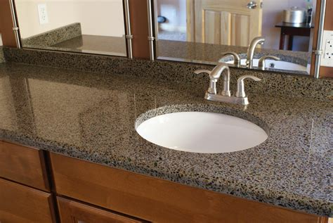 crushed glass countertops decor trends gorgeous glass