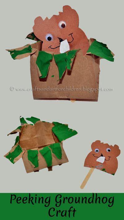 46 best groundhog day images on preschool 478 | 6828f5b571851072aba190dafb807501 children crafts craft kids