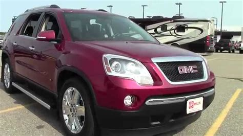 gmc acadia awd slt  owner local trade