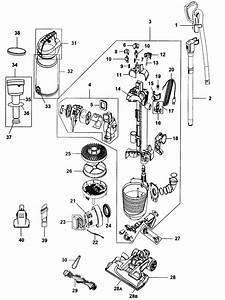 Uh72450 Air Pro Steerable Vacuum Parts
