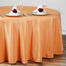 """10 90"""" Round Polyester Tablecloth Wedding Party Table"""