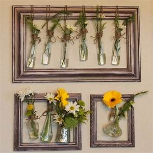 Upcycled picture frames for decor your home recycled things