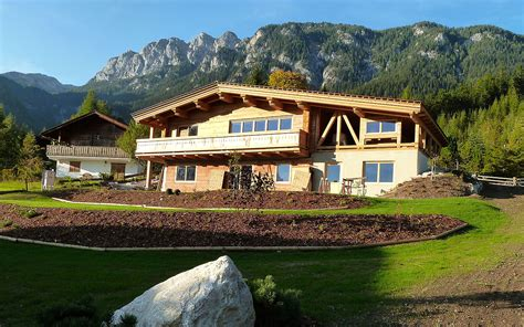 Haus In Den Bergen  Duffner Blockbau