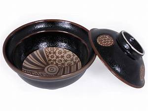 Traditional Japanese Patterns Small Ramen Bowl with Lid