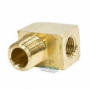 Parker Street Elbow 90 Degree 1  4 Inch Npt Brass 2202p