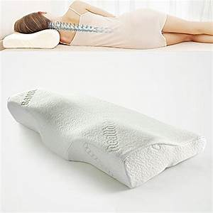 soft memory foam bamboo sleeping pillow 244x14x4 With bamboo pillow for neck pain